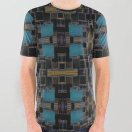 Aq Dze All Over Graphic Tee