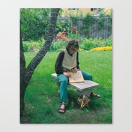 8 of Pentacles Canvas Print