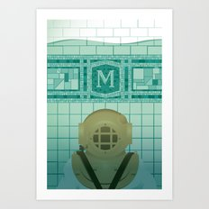 Flooded Art Print