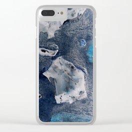 Negative Flint Clear iPhone Case