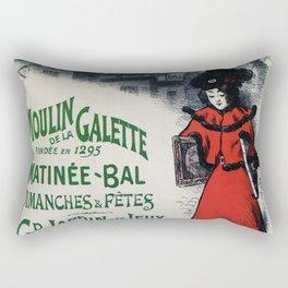 Moulin De La Galette 1896 Paris Rectangular Pillow