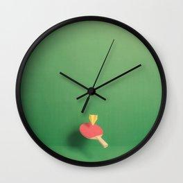 Paper Plane Pong Wall Clock