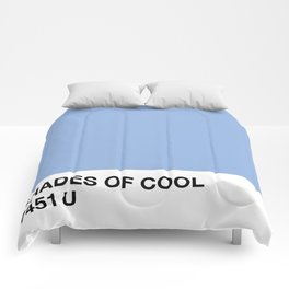 shades of cool Comforters