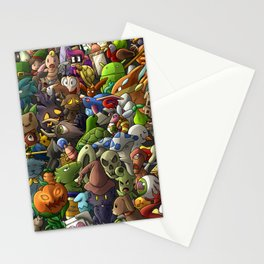all terrarias pets- Digital version Stationery Cards
