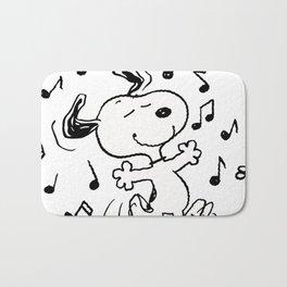 Dancing Snoopy Bath Mat