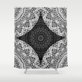 Mandala Mehndi Style G474 Shower Curtain