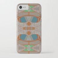 megan lara iPhone & iPod Cases featuring lara by kallia panopoulou