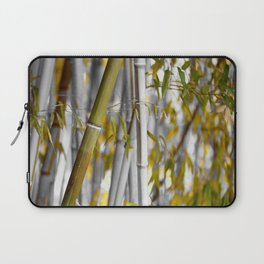 Bambuswald abstrakt Laptop Sleeve