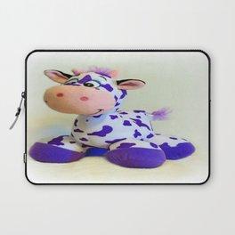 Purple Cow  Laptop Sleeve