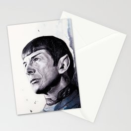 Goodbye Mr. Spock - Leonard Nimoy Stationery Cards