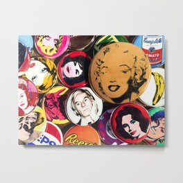 Queen Marilyn Metal Print