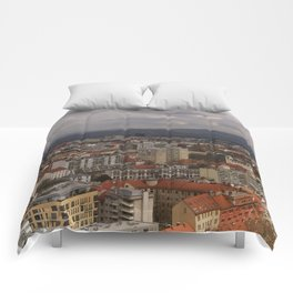 Over The Rooftops of Ljubljana Comforters