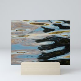 Abstract Water Surface Mini Art Print