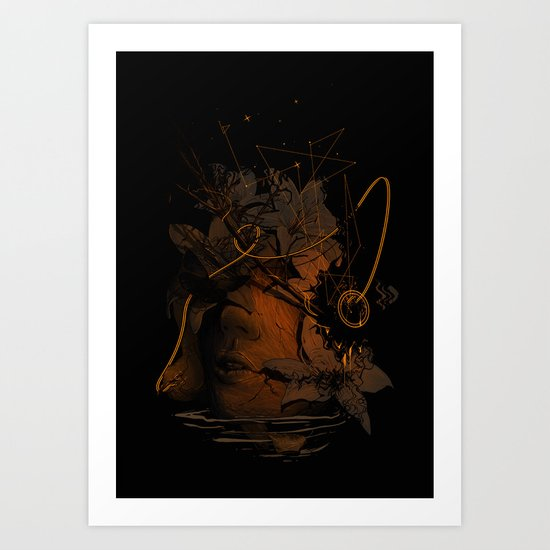 The Lost Track Art Print