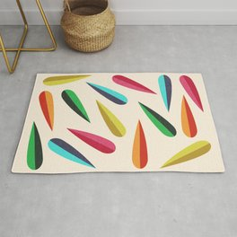 Feathers II Cascading Colors Rug