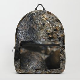 Beach Glass in the sand Backpack