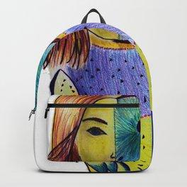 Owl woman Backpack