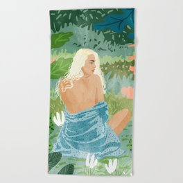 Jungle Vibes Beach Towel