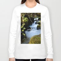 river Long Sleeve T-shirts featuring River by W.B Photography