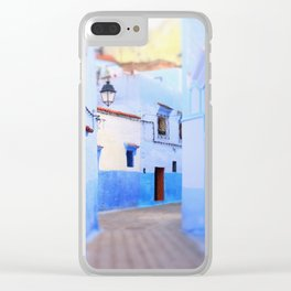 Moroccan Architecture Clear iPhone Case