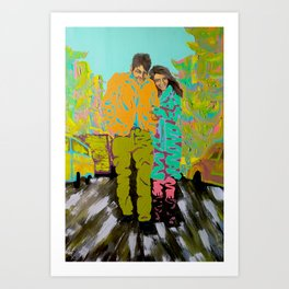 freewheeling Art Print