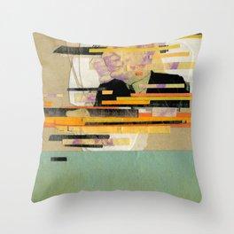 Kung Fu City Throw Pillow