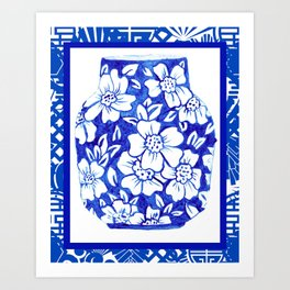 Chinoiserie Ginger Jar No. 4 Art Print