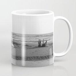 Nature reserve, Sicily, black white Coffee Mug
