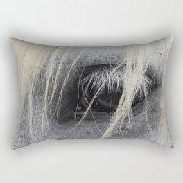 eye of the horse Rectangular Pillow