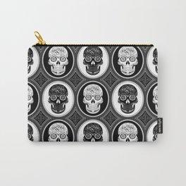 Skulls Calaveras Day of the Dead Dia de los Muertos Carry-All Pouch