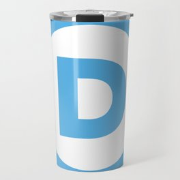 Democratic Party Logo Travel Mug