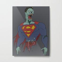 Super-Zombie Metal Print