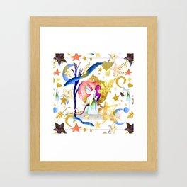 Starry Nights Framed Art Print