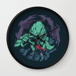 The Kraken. Wall Clock
