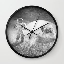 Familiar Planet Wall Clock