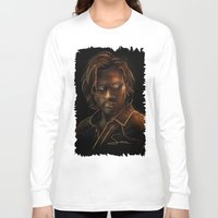 sam winchester Long Sleeve T-shirts featuring Sam Winchester by Sarah Sangelus