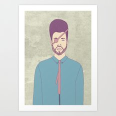 Captain Andrew Art Print