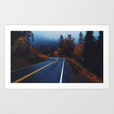 All roads lead to adventure Art Print