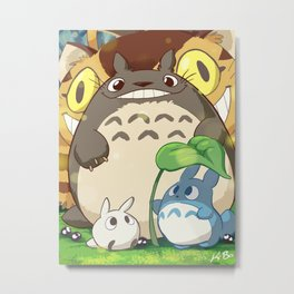funny and friend Metal Print