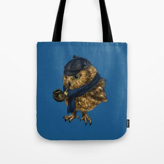 Sherlock // owl Tote Bag