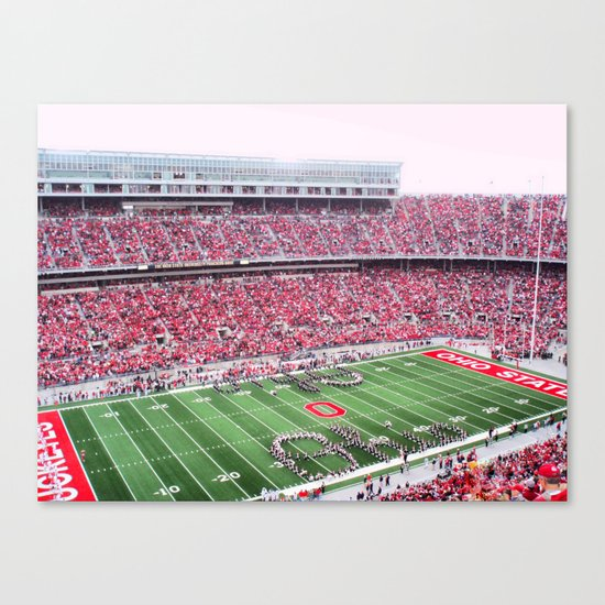 GO BUCKS!  Canvas Print