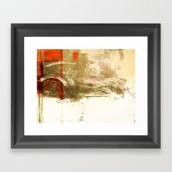 Standoff Framed Art Print
