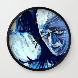 So Unsportsmanlike Wall Clock