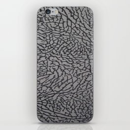 Cement from your Jordan sneakers;) iPhone Skin