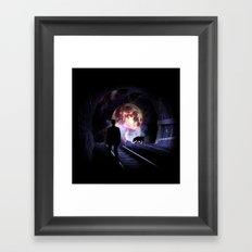 Tunnel Vision Framed Art Print