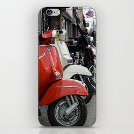 Vespas On The Street iPhone Skin