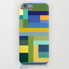 Forest Green iPhone Case