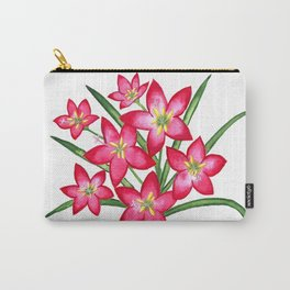 Rain Lilies Carry-All Pouch