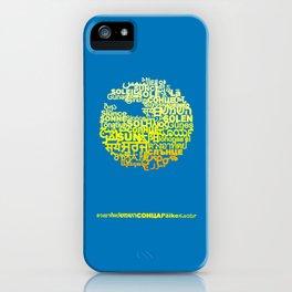 Sun in Different Languages iPhone Case