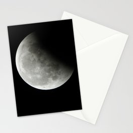 2019 Supermoon (perigean full moon) Moon Eclipse Stationery Cards